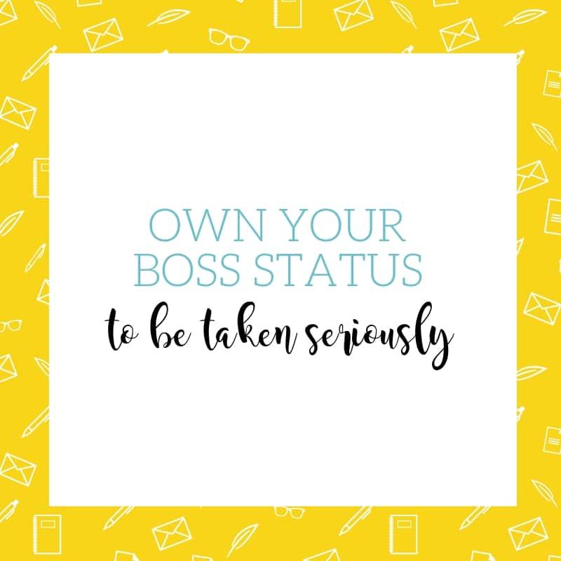 Talk Like a Boss