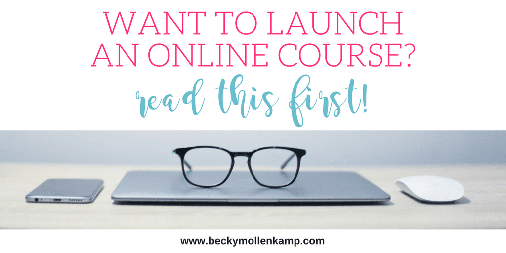 Launch lessons from my first online course