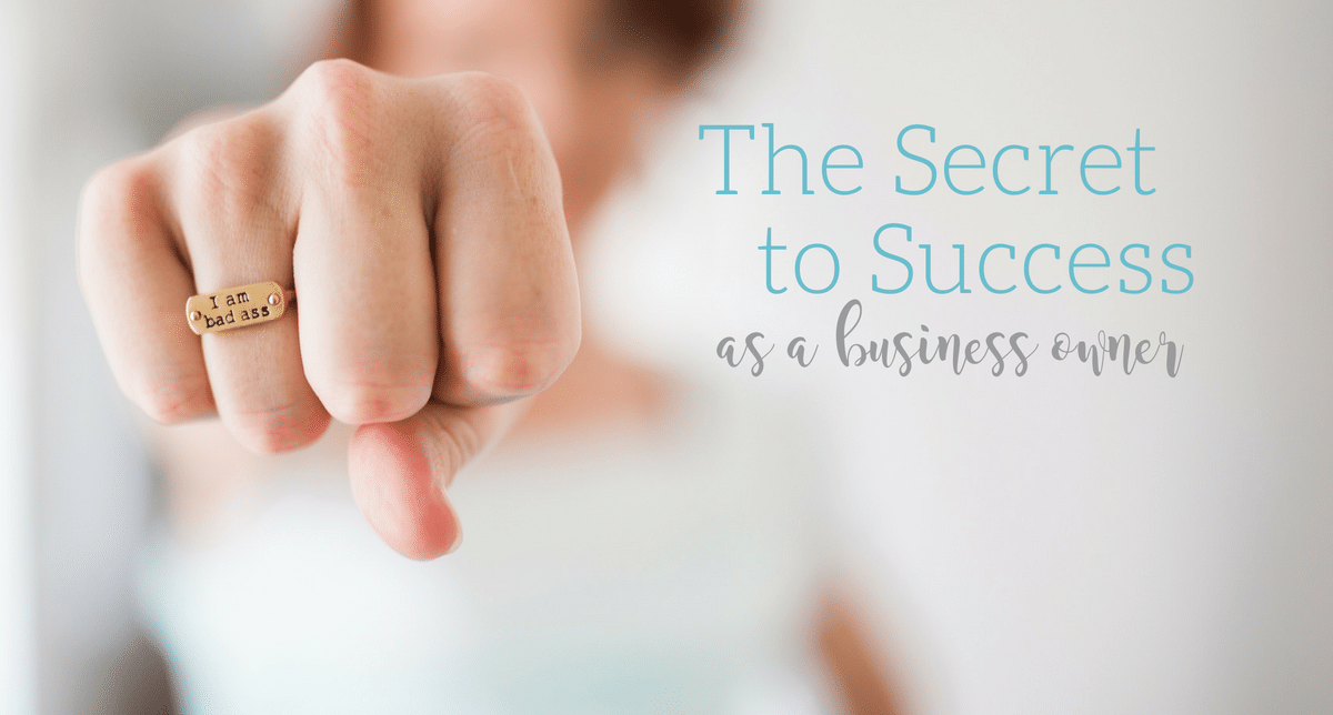 Learn THE secret to success as a business owner (hint: it's not what you think), from Becky Mollenkamp, business coach for women entrepreneurs
