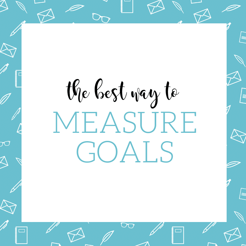 How to Measure Goals
