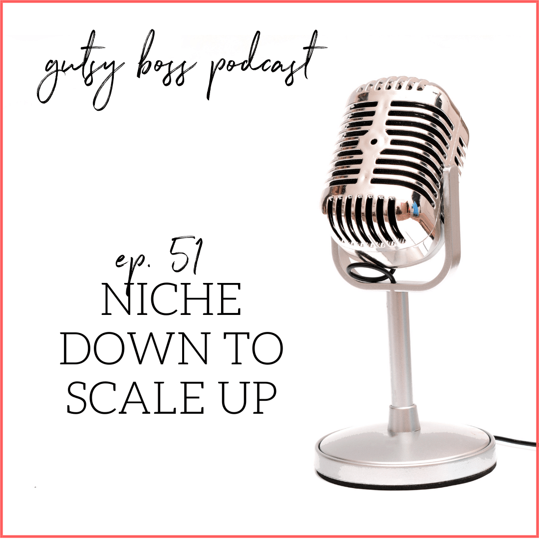 51. Meg Casebolt: Niche Down to Scale Up