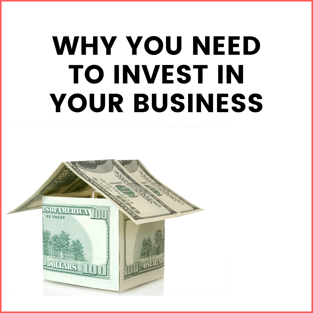 Not Investing in Your Business is a Money Mindset Issue