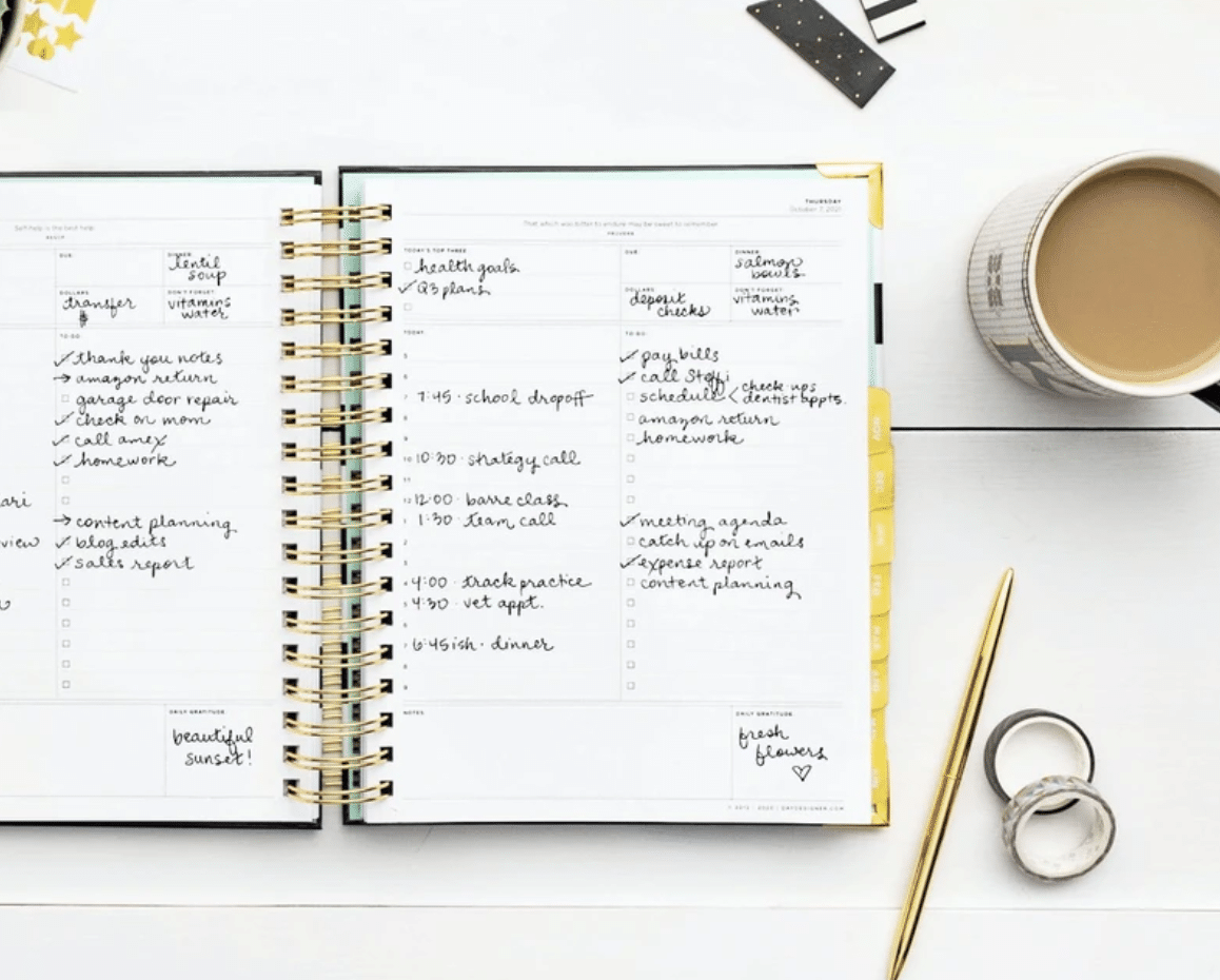 Day Designer Academic Planner